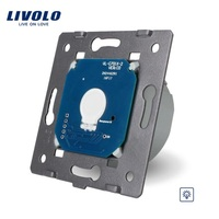 Livolo EU Standard Dimmer Switch Without Glass Panel, AC 220~250V,Wall Light Touch Dimmer Switch, VL C701D for LED Light