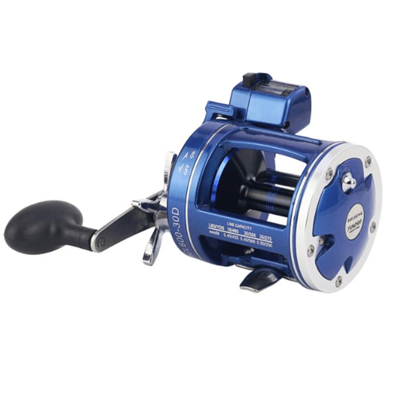 18 New YUMOSHI ACL30 ACL50 Trolling Fishing Reel 12 1BB 3 8 1 5 2 1