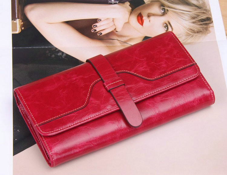 trifold wallets leather