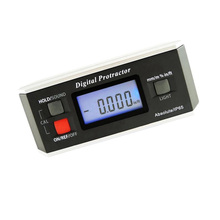 Angle Meter Level Digital Protractor Inclinometer 0-360 Degree Electromagnetic V-Shaped Groove With Backlight