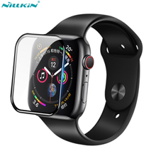 sFor iWatch 6 5 4 3 2 1 Tempered Glass Screen Protector Nillkin 3D AW+ Full Cover Glass For Apple Watch SE 38mm 40mm 42mm 44mm