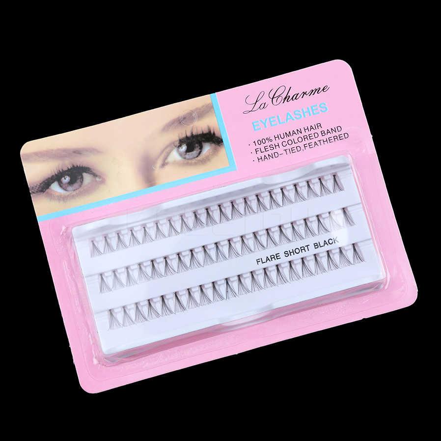 2aa44d547b6 Detail Feedback Questions about 60pcs/Set 8/10/12 mm Individual Lashe Black  6D Natural Fake False Eyelash Long Cluster Extension Makeup Beauty Health  on ...