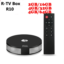 R-TV R10 Android 7.1 android tv box 4gb ram RK3328 Quad Core 2.4G&5G Wifi Bluetooth 4.1 MINI PC VP9 H.265 Media Player