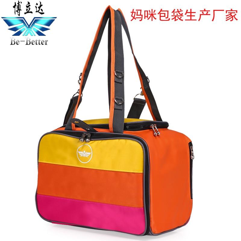 Stripes Baby Diaper Bags High Quality Nappy Bag Designer Tote Cute Nursing Bag for Girls Boys Mother's Maternity Bag Hobos