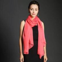 100% Real Silk Muslim Hijab Long Scarf Cappa Beach Sunscreen Plus Size 180*90 cm Wrap Scarves Women Watermelon Red Cape Shawl bedspread ethel silk mediterranean style size 180 220 cm faux silk 100% n a
