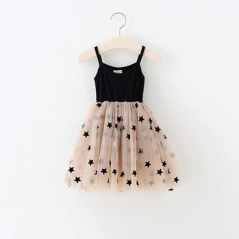 Платье для малышей пышная сетчатая одежда для маленьких девочек милые праздничные платья для первого дня рождения 2019 г. Новое хлопковое летнее платье принцессы для новорожденных младенцев