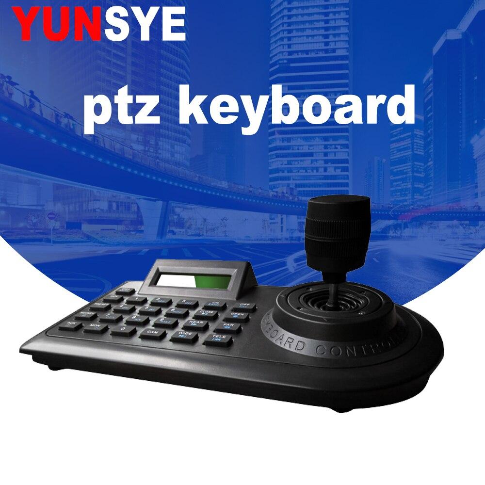 DHL livraison gratuite 4D vision Joystick PTZ clavier contrôleur CCTV vitesse dôme clavier contrôleur cctv caméra contrôleur