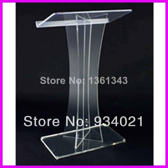 Hot Selling Acrylic Church Lectern Acrylic Pulpit Furniture Plexiglass