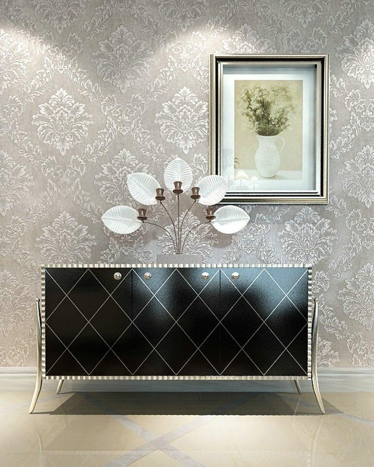 online-shop royal vlies blume wand papier damast schlafzimmer
