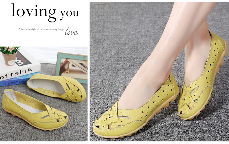 AH1165 (18) Women's Loafers Shoes