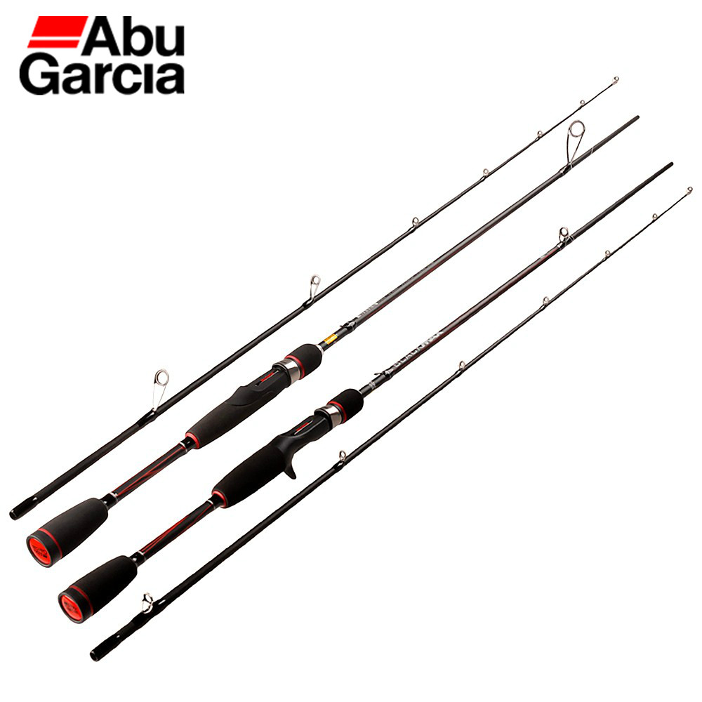 Fishing-Rod Casting Spinning Saltwater Abu Garcia BMAX Power-Carbon-Lure 2-Section Or
