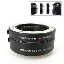 Electronic AF Auto Focus Macro Extension Ring Tube Set for M43 MFT Olympus EP5 EM5 EM1 EM10 Mark II III Panasonic G6 G5 GX7 GX8