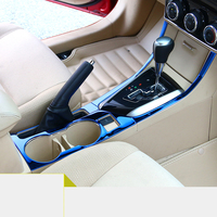lsrtw2017 car styling car cup frame trim for toyota corolla 2013 2014 2015 2016 2017 2018 E170