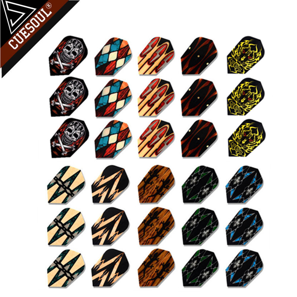 New Arrival CUESOUL 9pcs 3Sets Professional Dart Flights Dart Tails Wings With Very Good Quality