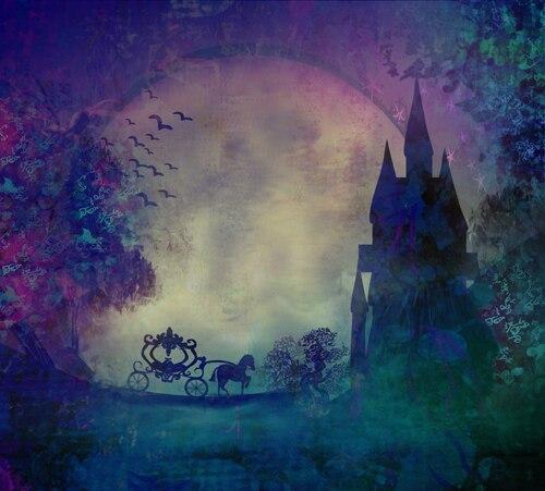 Huayi Хэллоуин фон-замок фоны для фото студия-фонов ткани для фотосессий  партия украшения фон xt3146 d870d9ba185