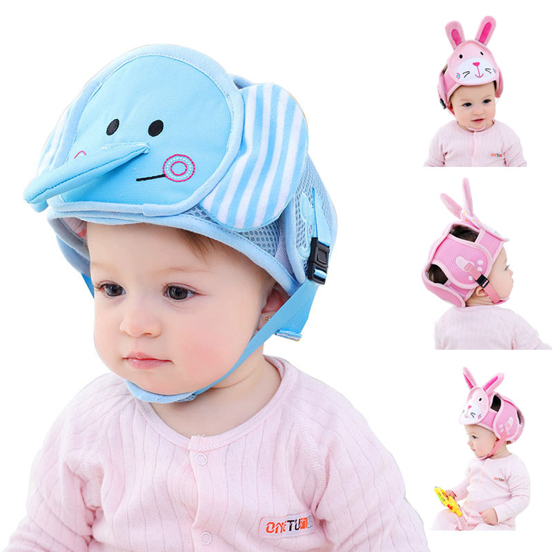 Baby head protector for walking learning Safety protective helmet Infant protection helmet Children cap Infant Toddler cap