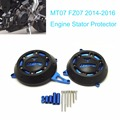 For Yamaha fz-07 mt-07 Engine Stator Case Cover Engine Protective Cover Protector MT07 FZ07 2014-2016 Blue