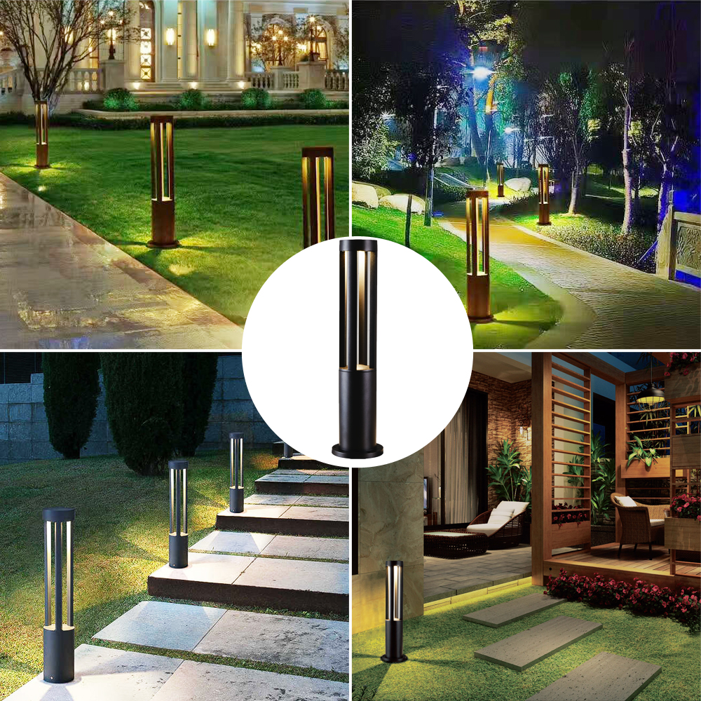 Image 5 - LED Landscape Garden Light Outdoor Waterproof for Lawn Decoration Yard Christmas Pathway Villa Garden Lighting Bollards Lamps-in LED Lawn Lamps from Lights & Lighting