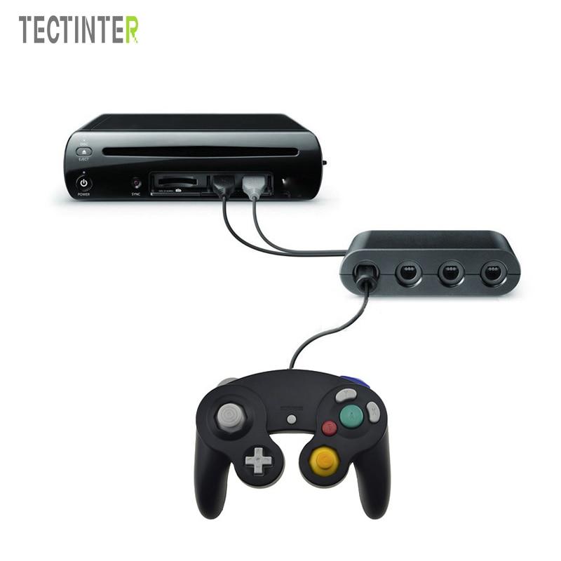 Adaptador Conversor Para WIIU Gamepad Para Wii U Game Cube Para Nintend Para Interruptor