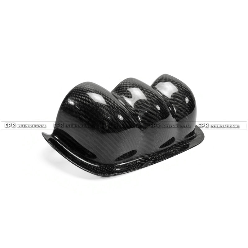 S14 Uras Type Dash Mount Triple Gauge Pod 60mm(RHD) CF(8)_1