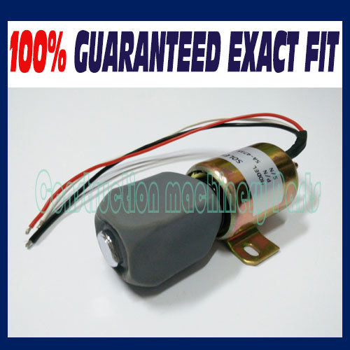 Flameout solenoid,Wholesale Fuel Shutdown 24v stop solenoid SA-4735-24 1756ES-24E3ULB1S5 for hyundai excavator
