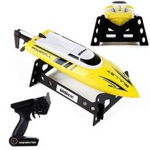 RC Boat Yellow 2 4G RC 30KM H Racing Boat Speedboat Remote Controller for UDI003 RC