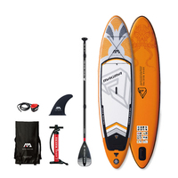 MAGMA 3.3m / 15cm SInflatable Sand Up SUP Paddle Board with Carry Backpack / Air Pump / Fin / Safety Rope / Paddle
