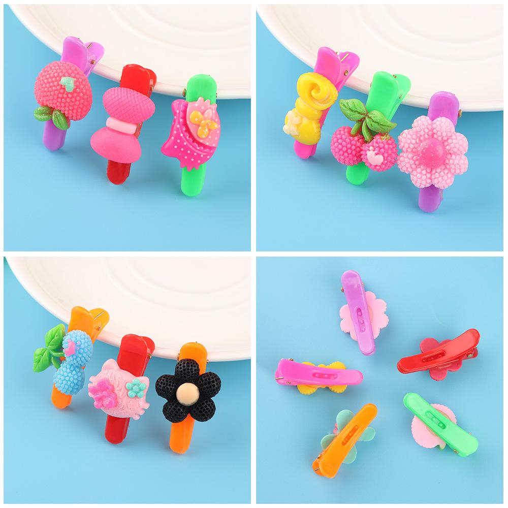 HTB1c7IoRVXXXXaiXXXXq6xXFXXXw 12-Pieces Mix Colorful Fruit Flower Star Animal Fish Ribbon Heart Candy Hair Accessories For Girls