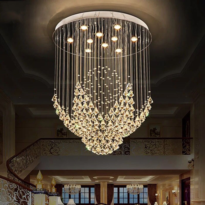New Led Ceiling Lamps Creative Acryl Ceiling Lights Lamparas De Techo Lamp Ceiling Light Home Decoration Lamps Free Shipping Quality And Quantity Assured Ceiling Lights & Fans Lights & Lighting