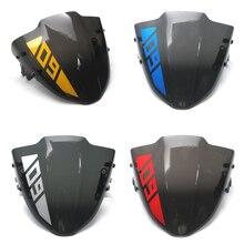 MTKRACING NEY MT09 Motorbike Small Windshield Wind screen  For Yamaha MT09 MT-09 FZ-09 MT 09 FZ09 2017 2018 2019 цена