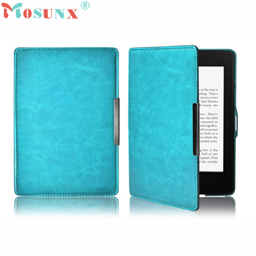#10 2016 New Premiu Ultra Slim PU Leather Smart Case Cover For New Amazon Kindle Paperwhite 5