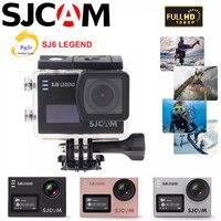 Оригинальная Спортивная Экшн камера SJCAM SJ6 LEGEND 4 К DV HD 2,0 с сенсорным экраном