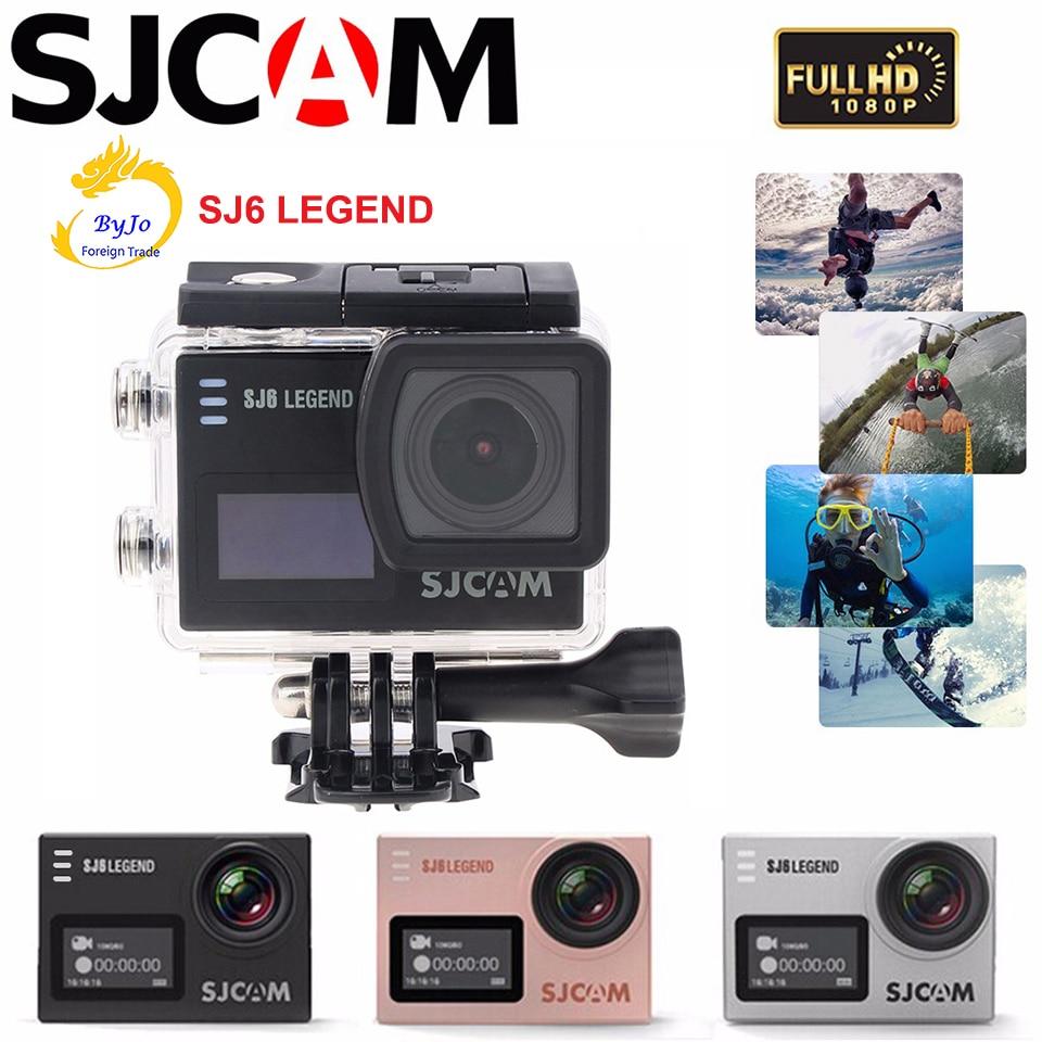 """Original SJCAM SJ6 LEGEND Espò Aksyon Kamera 4K DV HD 2.0 """"manyen ekran Imperméable kamera espò"""
