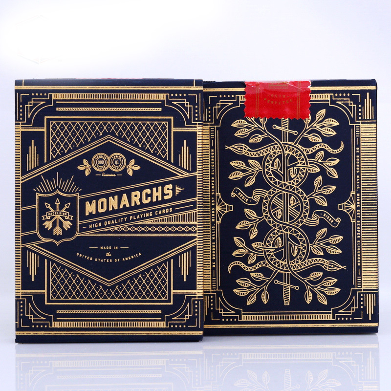все цены на Monarch Deck Playing Cards New Poker Cards for Magician Collection Card Game онлайн