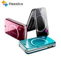 100% Original Unlocked Sony Ericsson T707 Mobile Phone 3G Smartphone Bluetooth Flip Cell Phone Free shipping