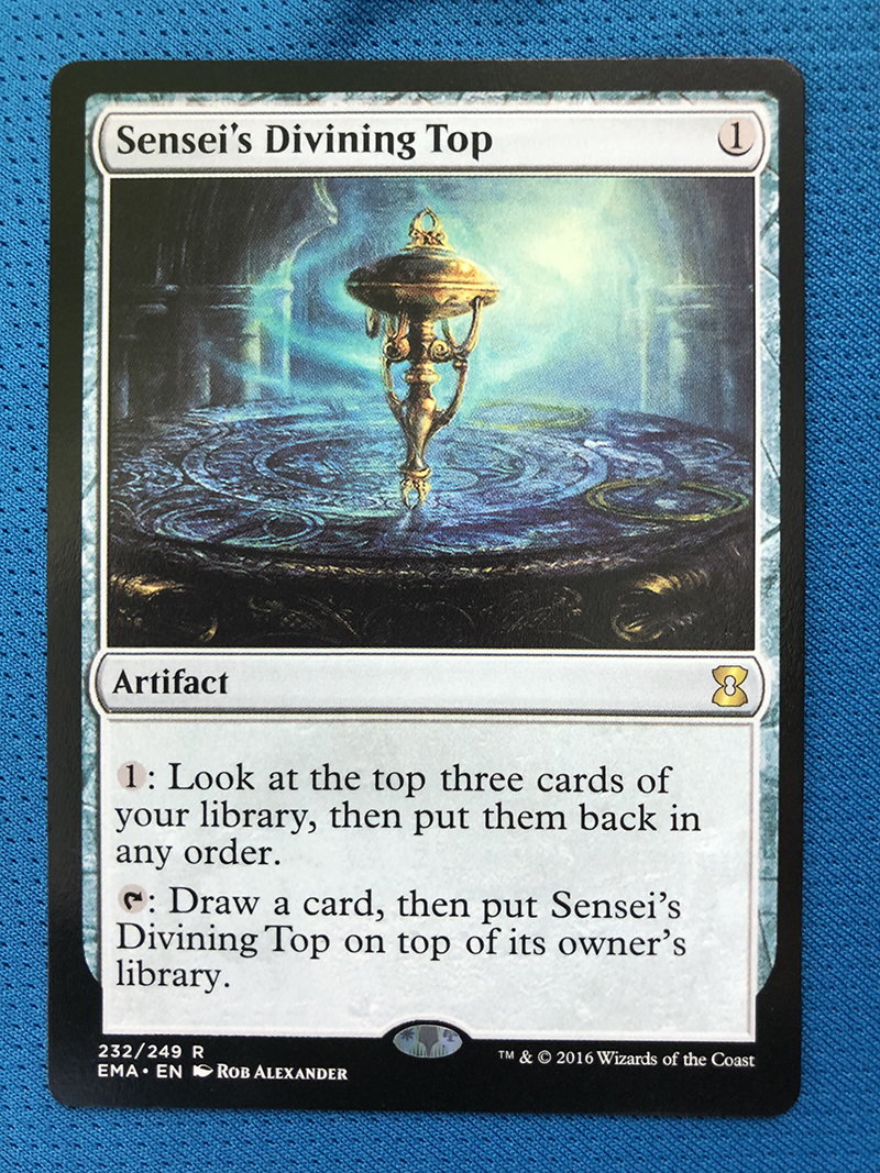 Sensei's Divining Top EMA Hologram Magician ProxyKing 8.0 VIP The Proxy Cards To Gathering Every Single Mg Card.