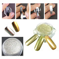 YAZOLE ColorWomen 1g/ Box Gold Sliver Nail Glitter Powder Shinning Nail Mirror Powder Makeup Art DIY Chrome Pigment