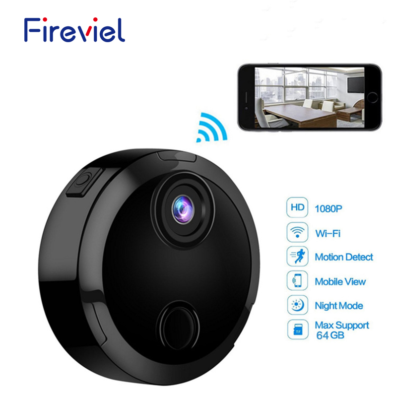 HDQ15 1080P Mini Wifi Camera Infrared Night Vision Micro Camcorder 150 Degree Wide Angle Remote Monitor
