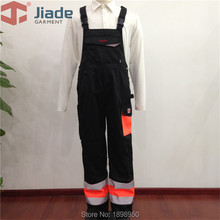 Pant Work Overalls Reflective High-Visibility Adult Polyester Cotton Jiade Men Bib Men's