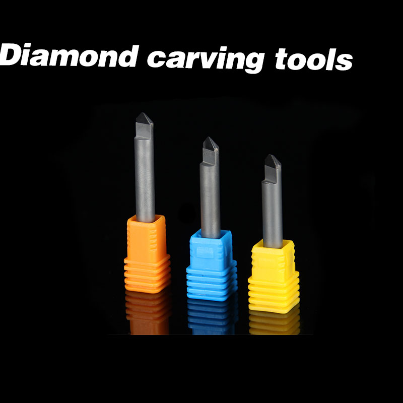 Stone1PCS SHK 6mm PCD CNC Carving Tools Diamond Router Bits Stone marble granite Tomb stone Cutting Engraving Bits stone1pcs shk 6mm pcd cnc carving tools diamond router bits stone marble granite tomb stone cutting engraving bits