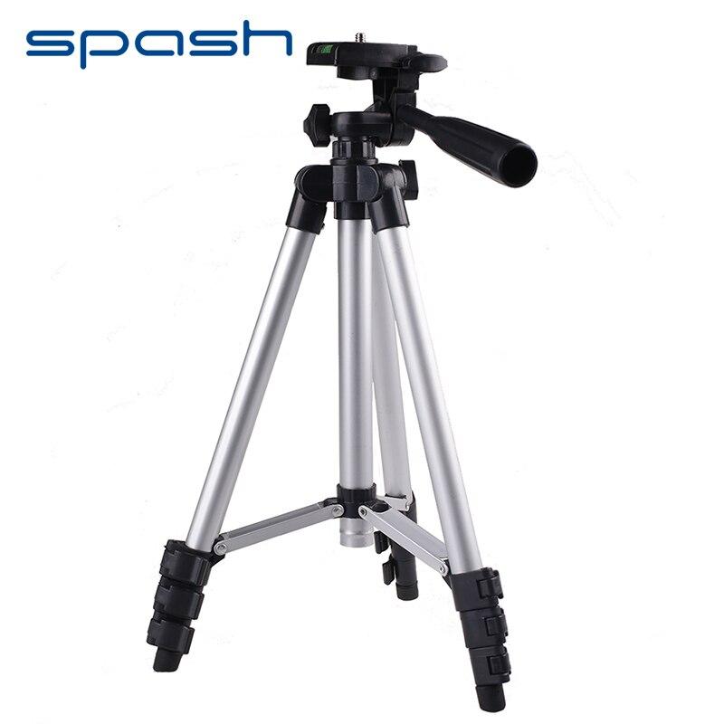 spash Universal Camera Tripod Stand Holder Portable Lightweight Cellphone Smartphone Camera Tripod for Canon Sony Nikon