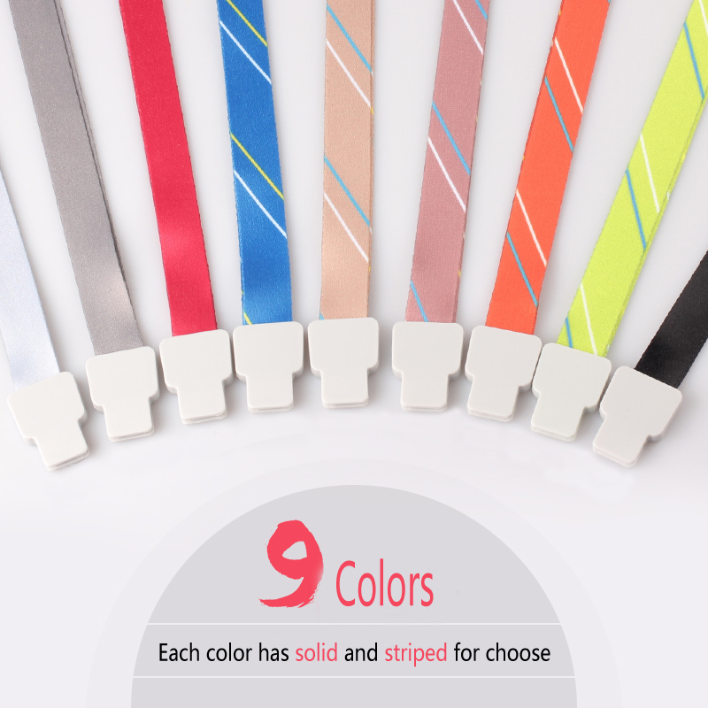 Hot Saleproduct Polyester Rope Badge Holder Lanyard Neck Strap 15mm Width For Office Work Cards And ID IC Cards