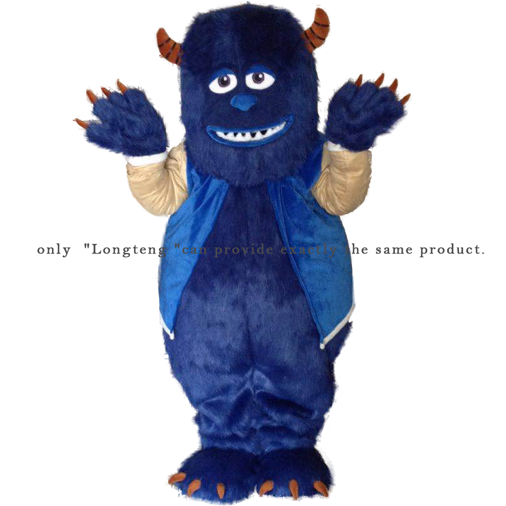Monstres, Inc. Sully James P Sullivan mascotte Costume personnage de dessin animé adulte Sz 100% image réelle Longteng2019New