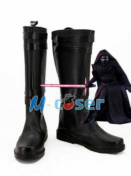 Star Wars 7:The Force Awakens Kylo Ren Boots Moive Jedi Halloween Cosplay Shoes For Adult Men Euro Size - DISCOUNT ITEM  10% OFF Novelty & Special Use