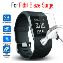 Premium For Fitbit Blaze Surge Tempered Glass For Fitbit Blaze Surge Smart Watch Screen Protector Cover Protective Film Case