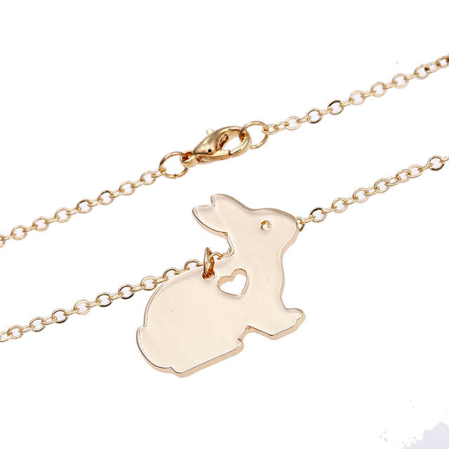Rabbit Bunny Necklace Easter Basket6