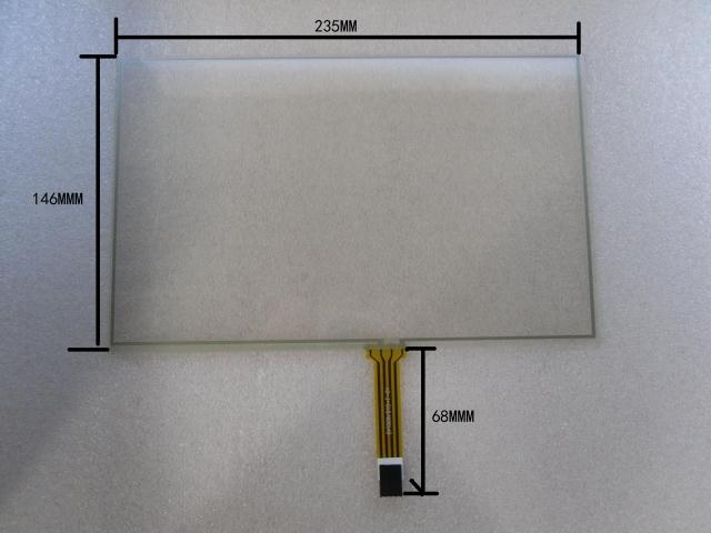 10.2 inch touch screen 4 Wire Resistive Touch Screen amt 146 115 4 wire resistive touch screen ito 6 4 touch 4 line board touch glass amt9525 wide temperature touch screen