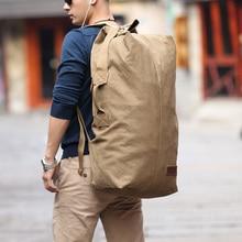 2016 muzee riesige reisetasche mit großer kapazität männer rucksack leinwand wochenende taschen multifunktionale reisetaschen