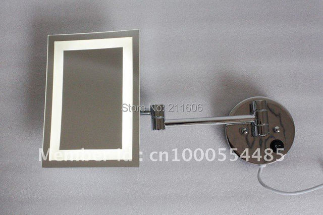 Cosmetic Mirror Stand Cosmetic Mirror With Led Light Round Cosmetic Mirror  Led Side Mirror Bathroom Mirror