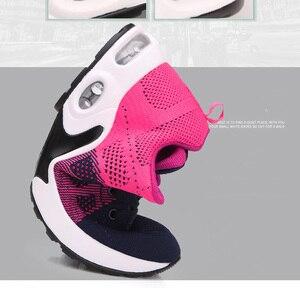 Image 5 - 2020 femmes chaussures printemps automne nouveau sport dames chaussures marche respirant Sapatilhas marche chaussures femmes baskets plate forme chaussure